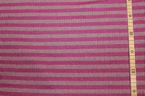 Hamburger Liebe Knit Knit Maxi Stripes pink/rosa