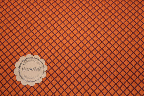 Hamburger Liebe Diamond Knit  orange
