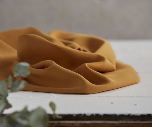 Tencel twill medium mustard