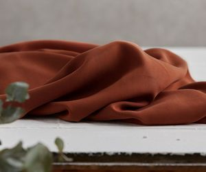 Tencel twill medium rust