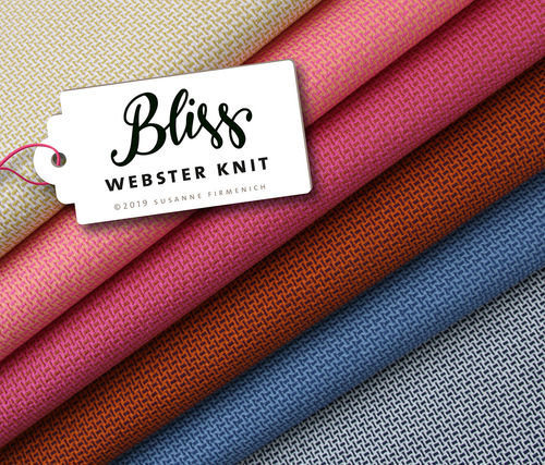 Hamburger Liebe BLISS Webster Knit A73/14 senf/puder