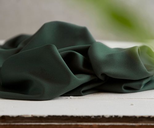 Meet Milk Sanded Tencel deep green